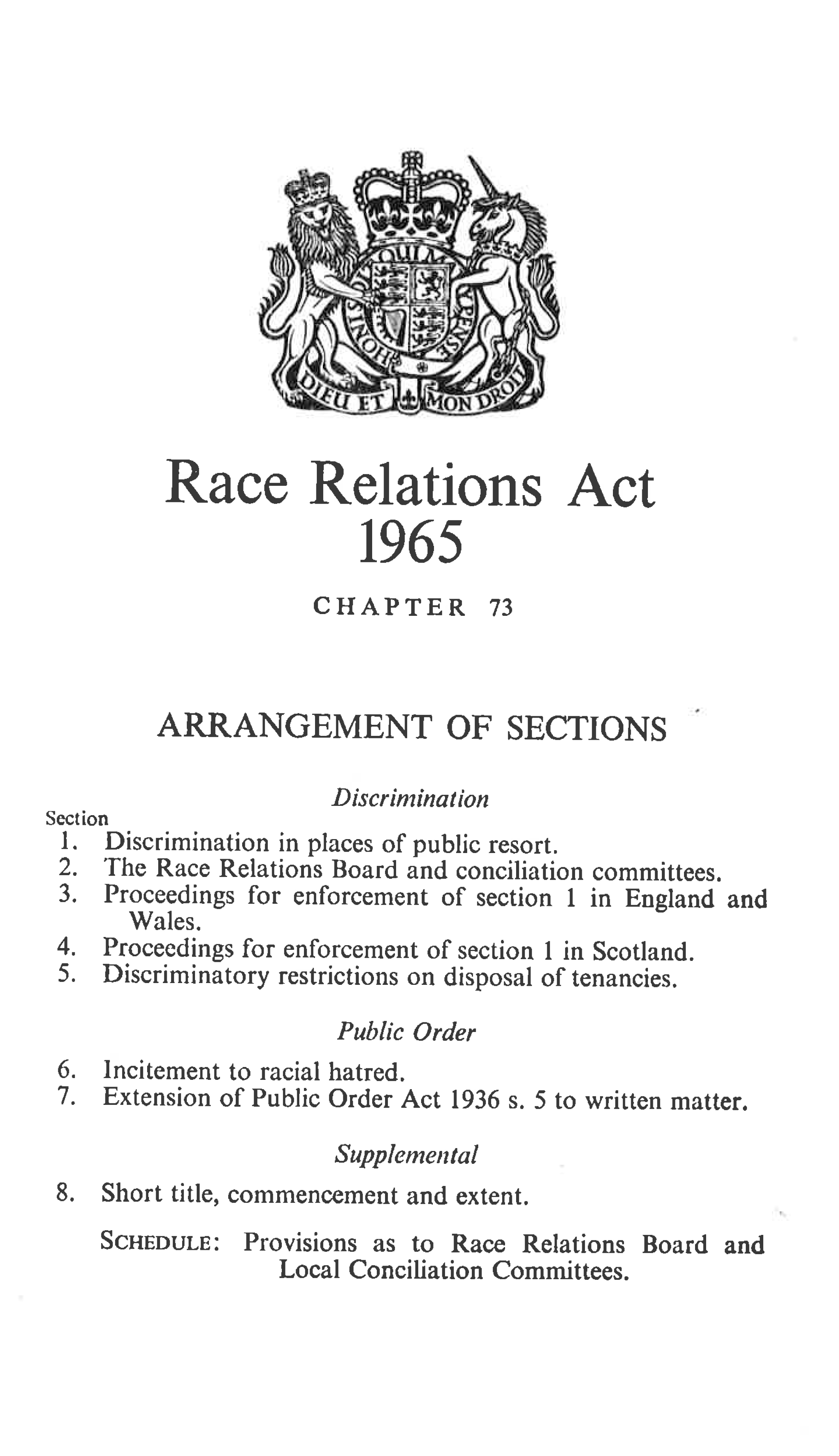Race Relations Act 1968
